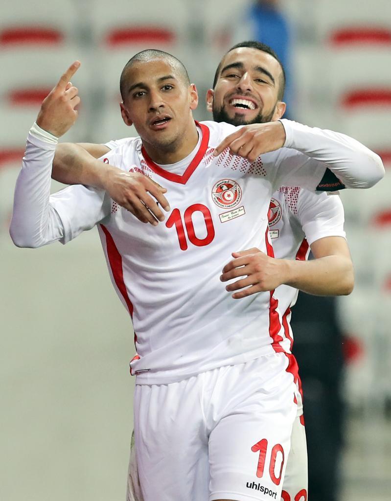 Wahbi Khazri (Tunisia). 27