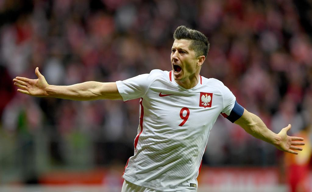 Robert Lewandowski (Poland). 29