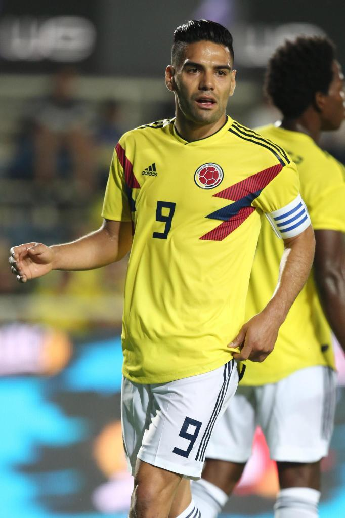 Radamel Falcao (Colombia). 32