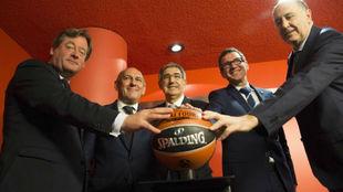 Presentación de la Final Four de la Euroliga 2019 en Vitoria