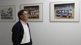 Anquela, en el Carlos Tartiere el pasado domingo, día de su...