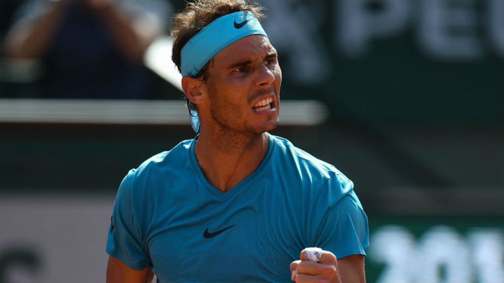 Rafael Nadal beats Del Petro in French Open