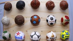 Se exponen 11 décadas de fútbol en México