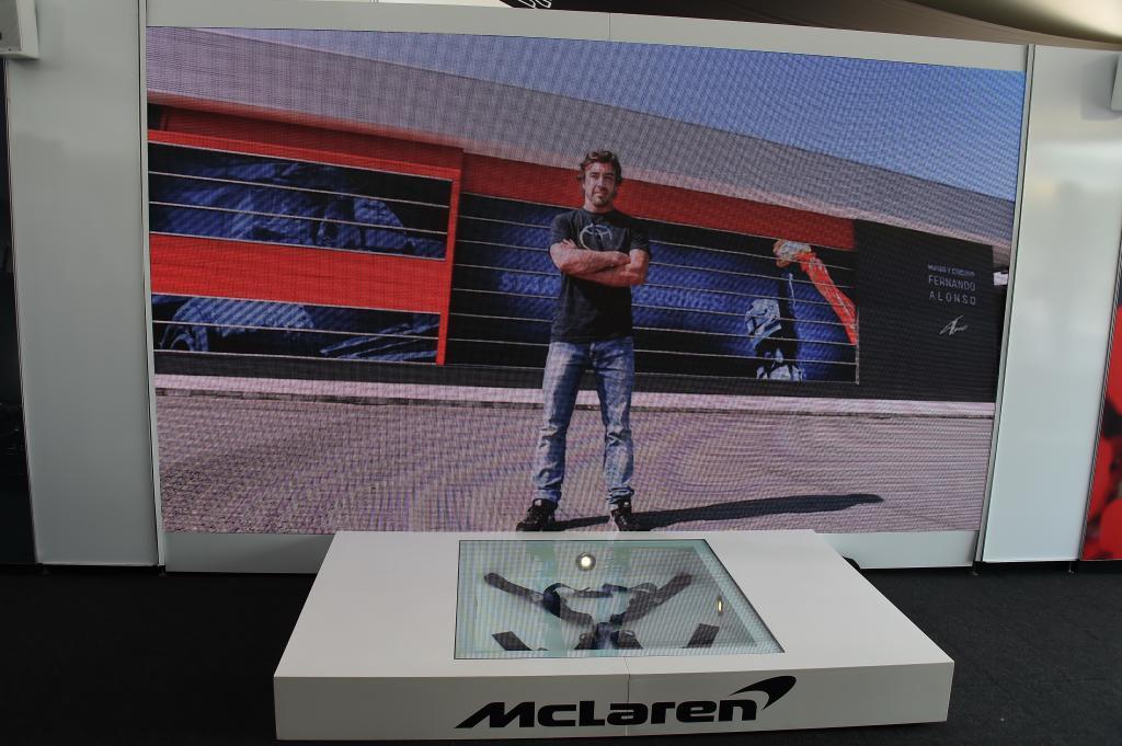 Imagenes de un video hecho por McLaren con fotos de la carrera deportiva de Fernando Alonso (ES) McLaren MCL33 Renault para conmemorar el 300 GP del asturiano Gran Premio de Canadá 2018. 7ª prueba del mundial. Circuito Gilles Villeneuve, ële Notre-Dame, Canadá. Jueves 07 de Junio, 2018. *** Local Caption *** RUBIO