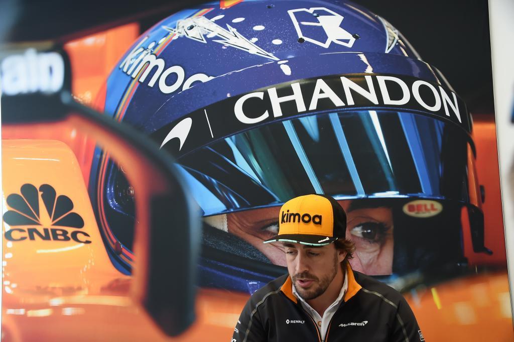 Fernando Alonso (ES) McLaren MCL33 Renault cumple 300 G.P. Gran Premio de Canadá 2018. 7ª prueba del mundial. Circuito Gilles Villeneuve, ële Notre-Dame, Canadá. Jueves 07 de Junio, 2018. *** Local Caption *** RUBIO