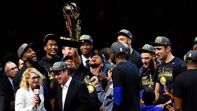 Los Warriors suman tres anillos desde 2015