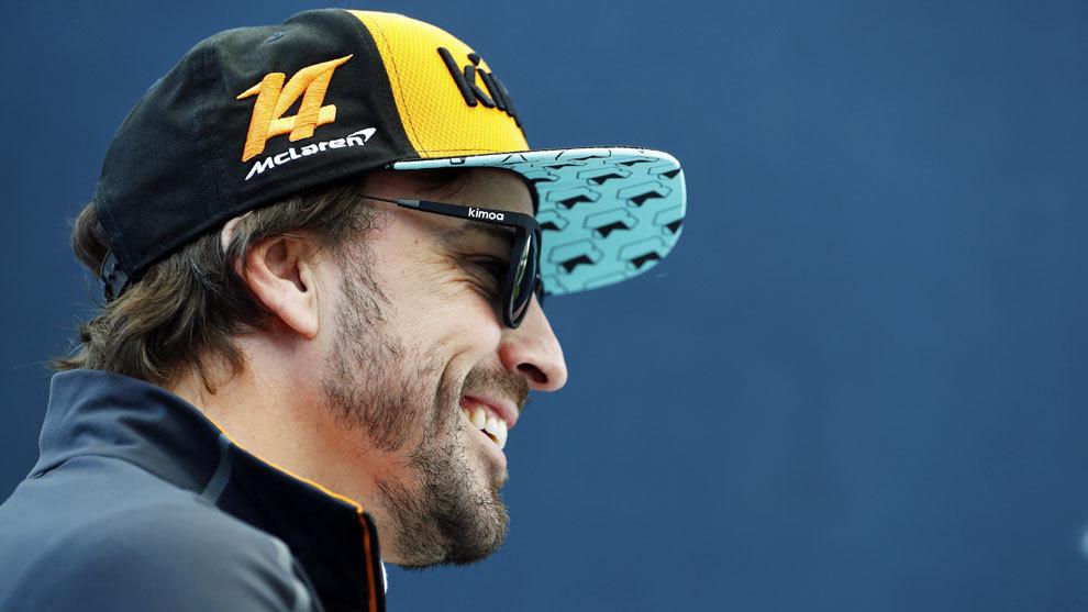 Fernando Alonso, en el Gran Premio de Canadá