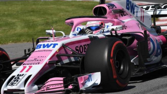El piloto mexicano va por una excelsa carrera en Canadá.