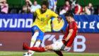 Neymar shows his magic against Austria