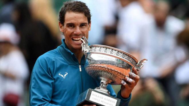 Rafa Nadal muerde su undécima Copa en Roland Garros.