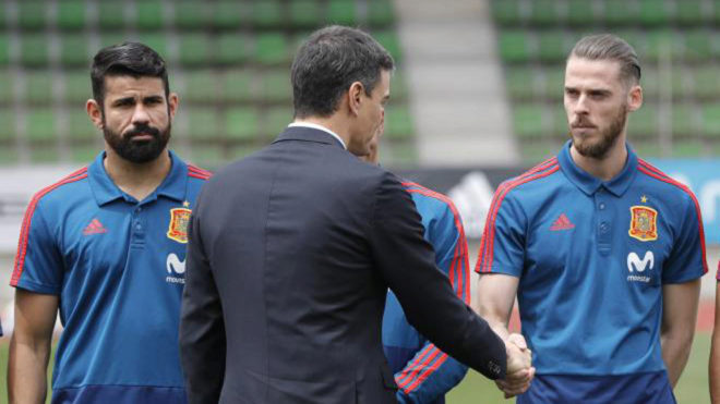 Hierro replaces sacked Lopetegui as Spain manager