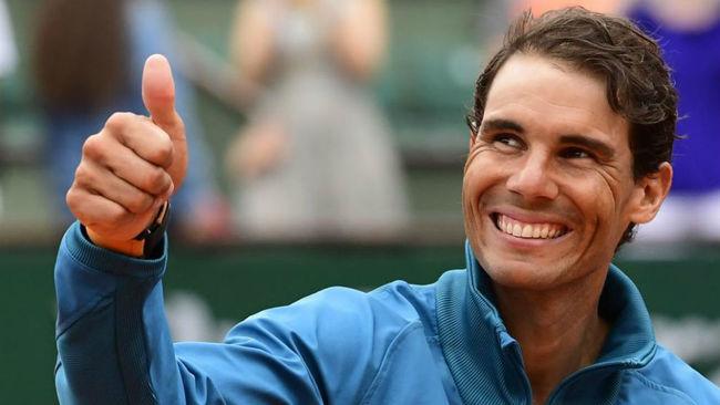 Rafa Nadal se muestra sonriente tras ganar su undécimo Roland Garros.