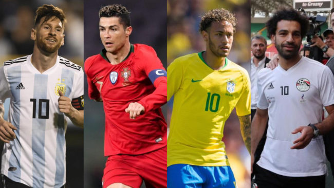 Russia look for a super star: Messi, Cristiano Ronaldo or Neymar? Or Salah?