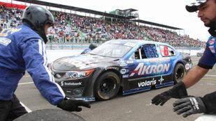La lluvia en la pista complicó la carrera en Guadalajara