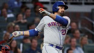 Adrián González solo estuvo cinco meses con los Mets