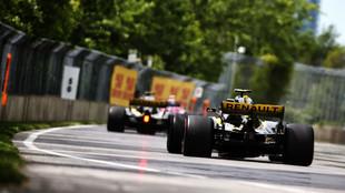 Renault, durante el GP de Canadá