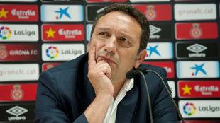 El nuevo entrenador del Girona, Eusebio Sacristán