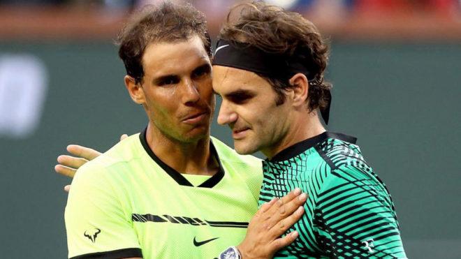 Nadal y Federer, en Indian Welles