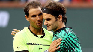Nadal y Federer, en Indian Welles