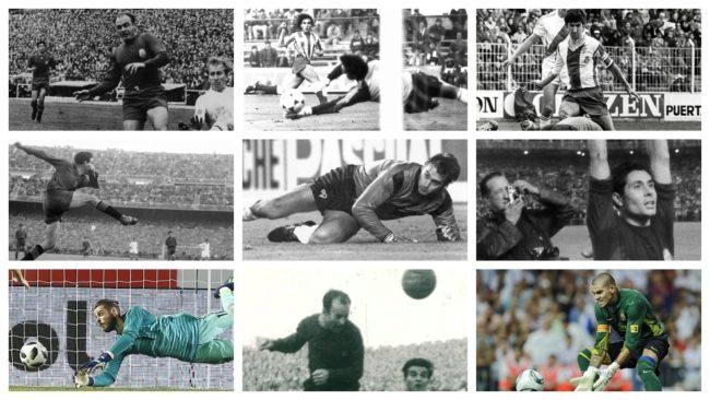 Algunos de los Mundialistas españoles que no jugaron en el Mundial.