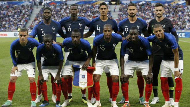 Resultado de imagen para Francia seleccion 2018