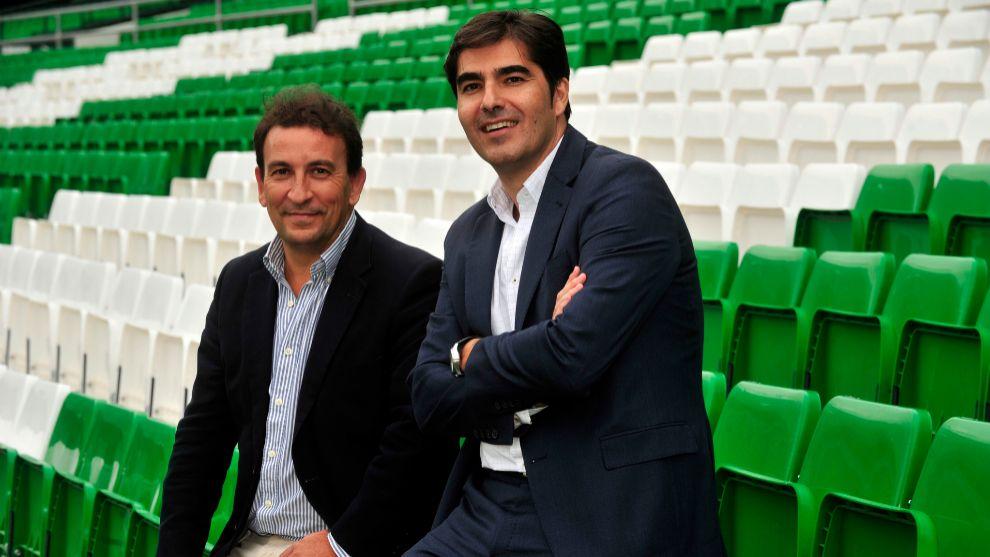 Haro y Catalán posan para MARCA