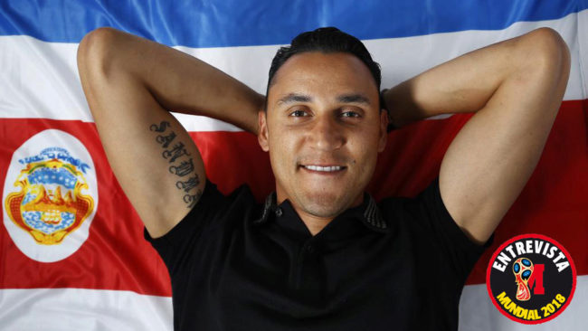 Keylor Navas tells MARCA: Real Madrid fans are behind me, they tell me not to go