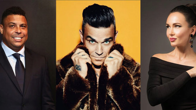 Robbie Williams entretendrá alrededor de 80 mil espectadores