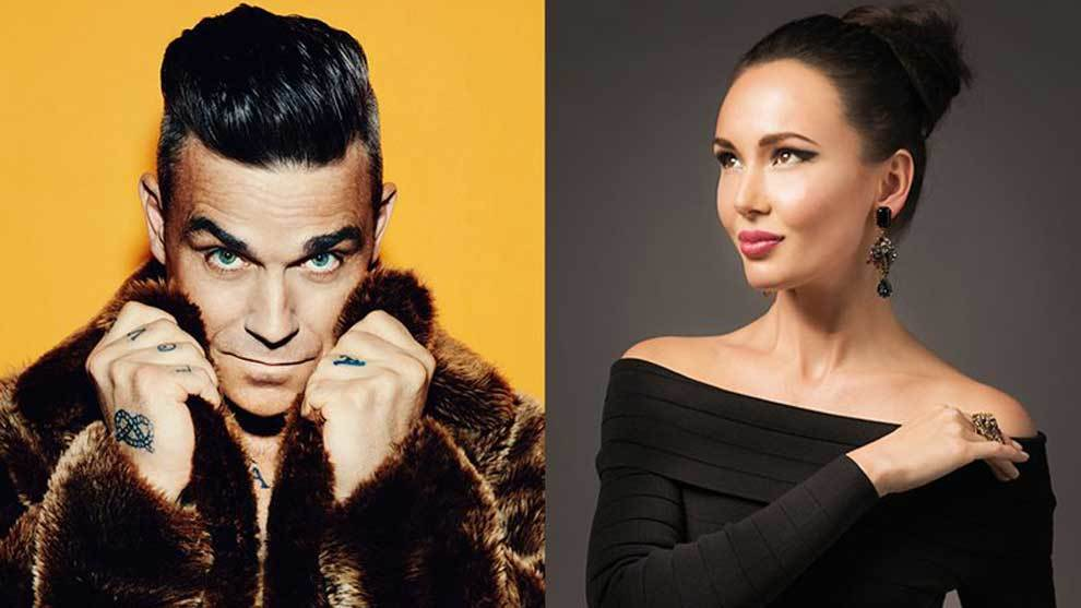 El 14 de junio de 2018 el cantante pop Robbie Williams, la cantante de...