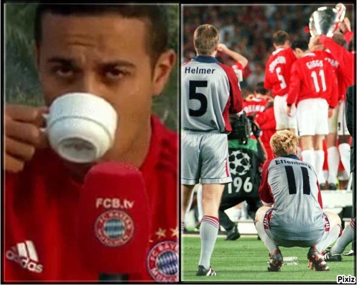 Épico pique en Twitter entre Manchester United y Bayern de Múnich