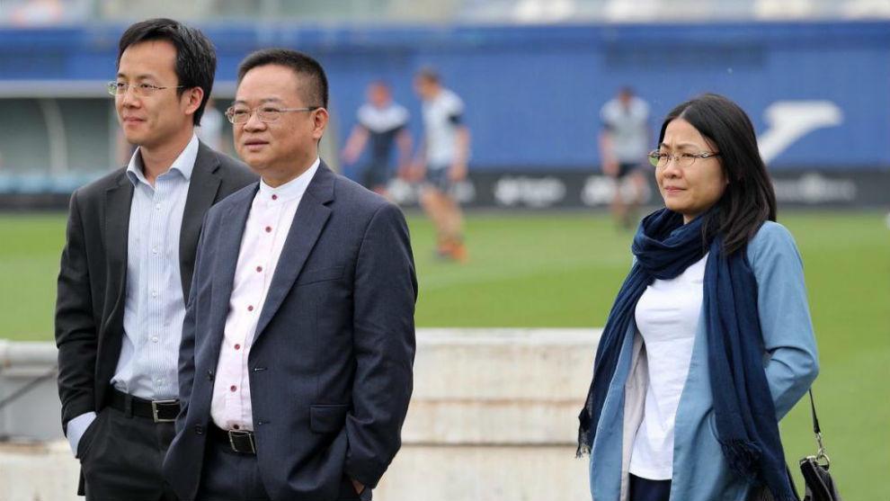 Chen Yansheng, en la Ciudad Deportiva