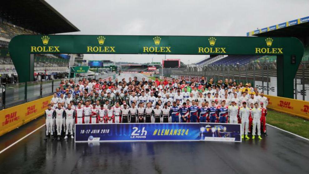 La parrilla de las 24 Horas de Le Mans 2018 al completo