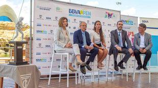 Presentación del BBVA Open Ciudad de Valencia.