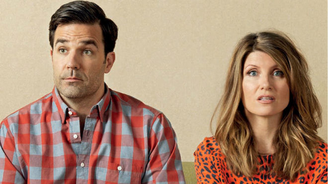 Rob Delaney y Sharon Horgan, creadores y protagonistas de...