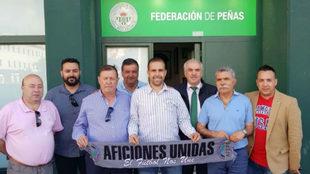 Reunión entre las Federaciones de Peñas Andaluzas y Aficiones Unidas