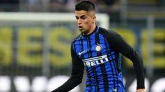 Cancelo, en un partido con el Inter esta temporada.