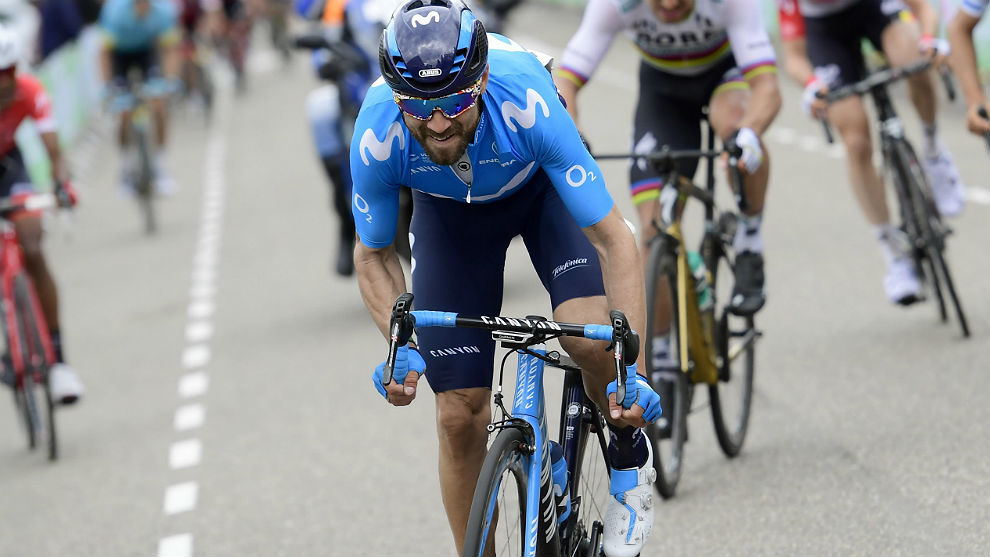 Valverde, esta primavera en la Amstel Gold Race.