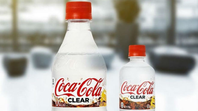 Coca-Cola Clear llegó a Japón el pasado lunes