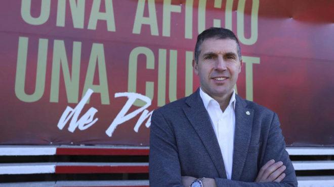 Delfi Geli, presidente del Girona.
