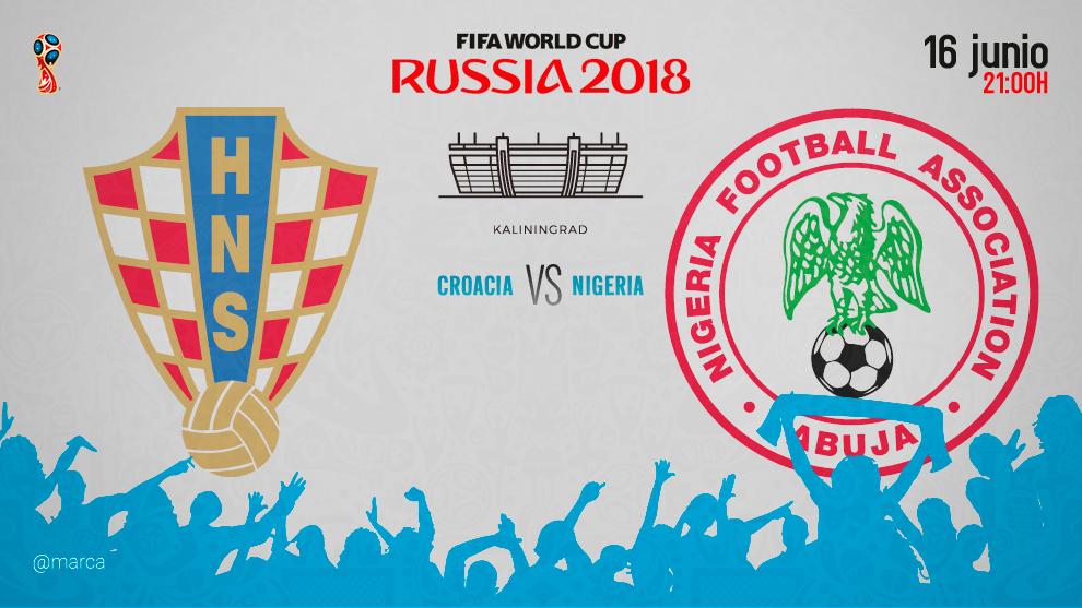 Croacia superó a Nigeria y es líder en la zona