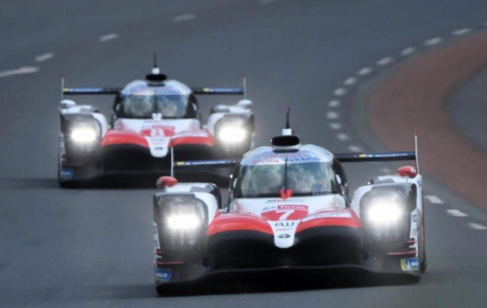 Los dos Toyota, dominadores de la clasificación