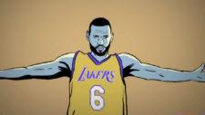 El gurú de la NBA ve a LeBron James fichando por los Lakers