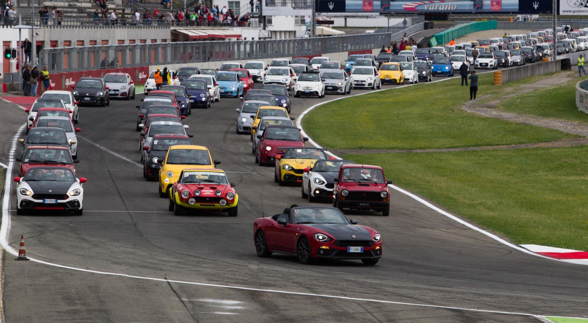 Circuito Ascari : Abarth day el de junio en el circuito ascari marca