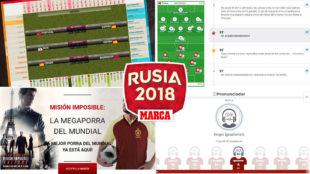 Despliegue MARCA: Calendario interactivo, nuevos directos, Megaporra, todos los vídeos...