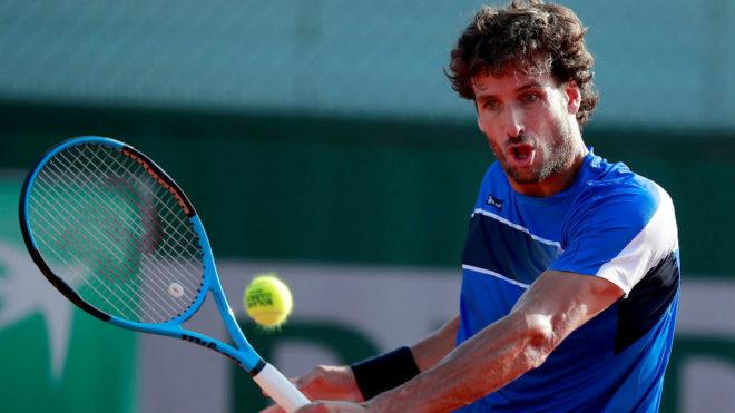 Feliciano López, en un torneo.