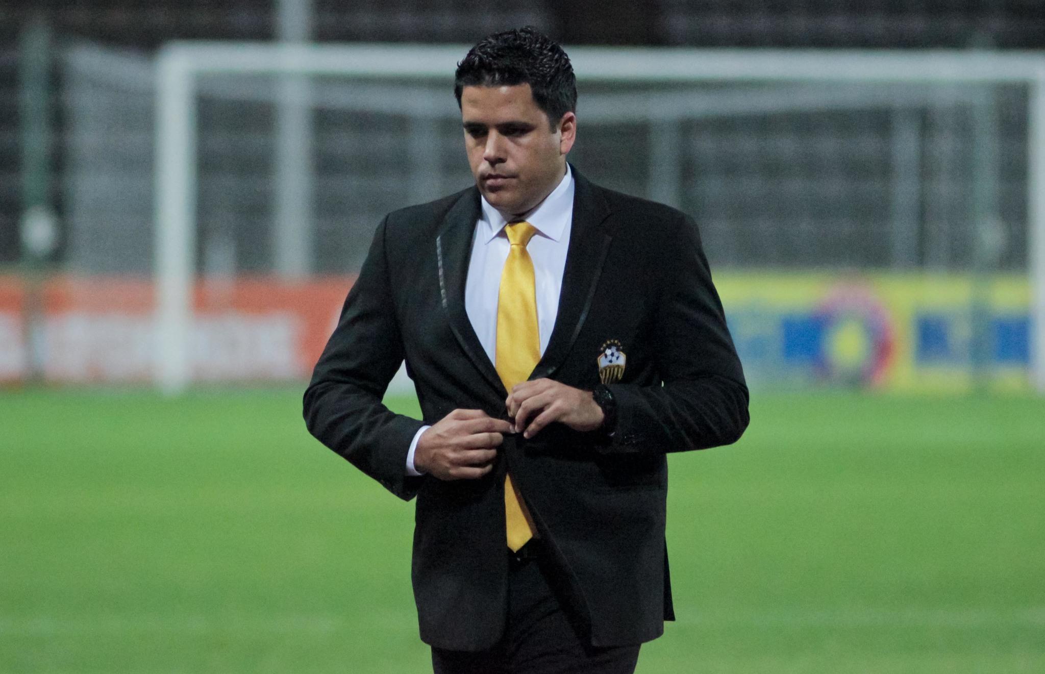 Daniel Farías, en su etapa como entrenador del Deportivo Táchira