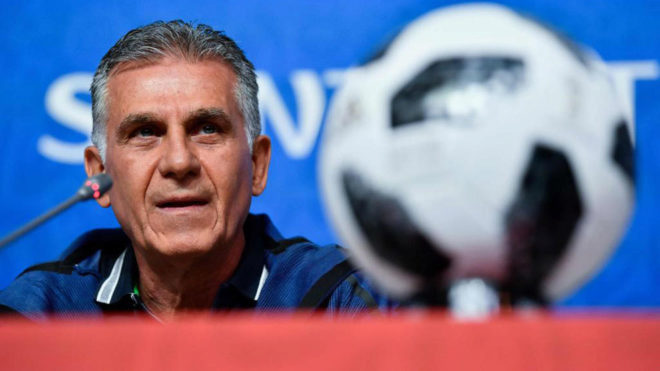 Iran boss Queiroz quiet on Spain's coaching debacle