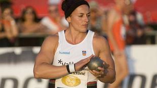 Úrsula Ruiz, durante una competición