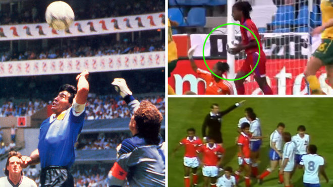 The 10 Major World Cup Refereeing Mistakes That Var Would Have Avoided