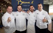 Martín Berasategui, junto a los chefs Juan Manuel Salgado, Adrià...